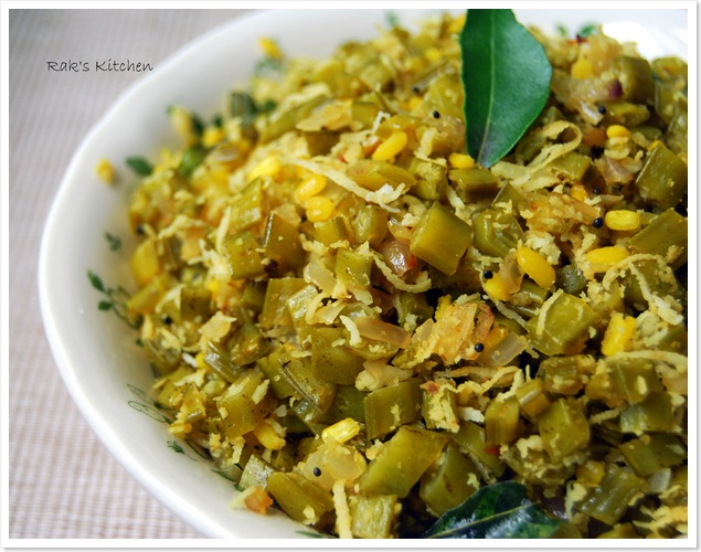 Poriyal Recipes Raks Kitchen